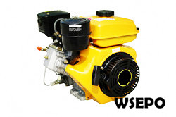 3hp 196cc Air Cooled Diesel Engine,4-Stroke,Swirl Chamber
