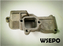 Free Shipping ! 170F 4HP Diesel Engine Parts,Intake Pipe