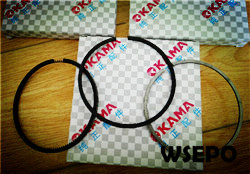 Free Shipping! 170F 4HP Diesel Engine Parts,Piston Ring
