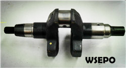 Wholesale 170F 4HP Diesel Engine Parts,Crankshaft splined