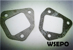 Free Shipping! 170F 4HP Diesel Engine Parts,bent pipe gasket