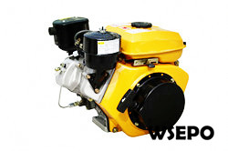 WSE 3.5hp 208cc Air Cooled Diesel Engine,4-Stroke Electric Start