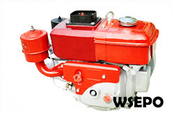 6hp 291cc Water Cooled Diesel Engine,4-Stroke,Swirl Chamber