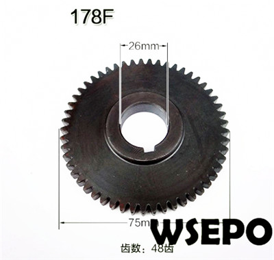 Free Ship! 178F L70 6hp Diesel Engine Balance shaft timing gear