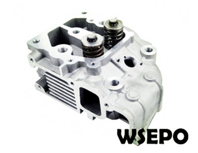 Wholesale 186F 9HP Diesel Engine Cylinder Head Assy with Valves