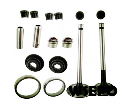Free Shipping! 186F/186FA 9hp Diesel Engine Valve,Seat 16PC Kit