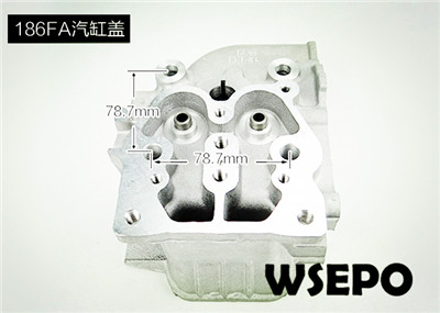 Wholesale 186FA Diesel Engine Parts,Cylinder Head