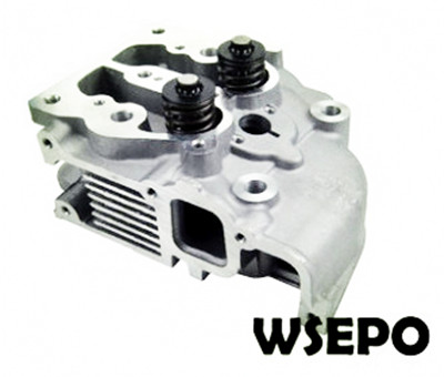 Wholesale 186FA Diesel Engine Cylinder Head Assy with Valves