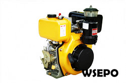 9hp 418cc Air Cooled Diesel Engine,4-Stroke,Direct Injection