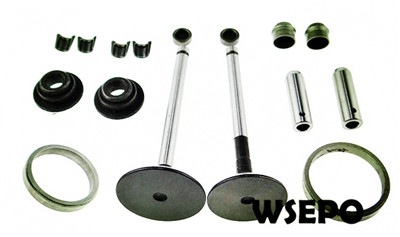 Free Shipping! 188F 10HP Diesel Engine Valves,Seat 16PC kit