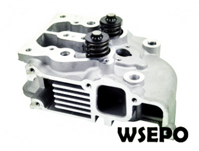 Wholesale 188F 10HP Diesel Engine Cylinder Head Assy with Valves