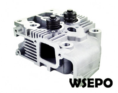 Wholesale 192F 12HP 7.5KW Diesel Engine Cylinder Head Assy