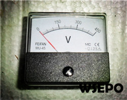Wholesale 2-2.8KW Gas Generator Parts,Voltmeter(Square)
