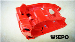 Wholesale chainsaw parts,quality 25cc crankcase body for supply