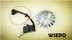 Quality Parts! Wholesale 25cc Gasoline Chainsaw flywheel+Coil