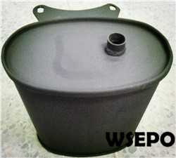 Wholesale 2-2.8KW Gas Generator Parts,Muffler,Silencer