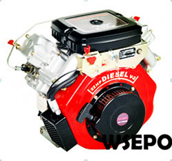 WSE-2V88F 860cc 22hp V-Twin Cylinder Air Cooled Diesel Engine