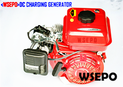 2KW DC Battery Charging Generator System 48V/60V for E-Vehicles
