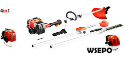 Wholesale WSE-520 52CC Gas Brush Cutter/Trimmer(4 in 1 kit)