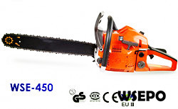 Wholesale WSE-450 45CC Gasoline Chainsaw,CE Approval