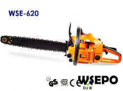 Wholesale WSE-620 62CC Gasoline Chainsaw,CE Approval