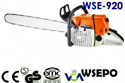 Wholesale WSE-920 92CC Gasoline Chainsaw,CE Approval