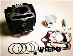 Wholesale Horizontal Motorcycle Engine 110cc Cylinder Kit