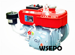 R165 3hp Water Cooled 4-stroke Small Diesel Engine