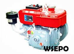 R170 4hp Water Cooled 4-stroke Small Diesel Engine