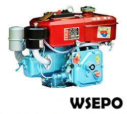R175 5hp Horizontal Water Cooled 4-stroke Small Diesel Engine
