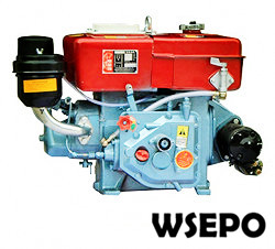 R190 10hp Water Cooled 4-stroke Diesel Engine with Estart