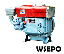 S195 12hp Water Cooled 4-stroke Diesel Engine