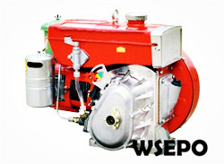 WSE-170F 4hp Horizontal Air Cooled 4-stroke Small Diesel Engine