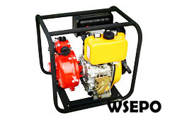 "2"" firefighting Pump Powered by 6hp Diesel Engine,Aluminum Pump"