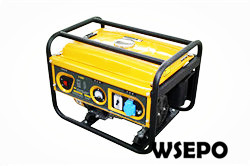2kw Portable Gasoline Generator Set,50/60hz,230V