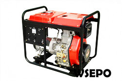 5KVA Diesel Portable Generator,230V,50/60hz,Single Phase