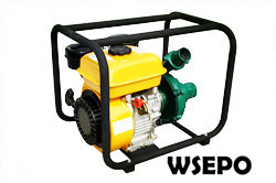 "2"" Centrifugal Water Pump Powered by 7hp Gas Engine,Iron Pump"