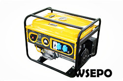 6.5kw Portable Gasoline Generator,Single Phase,230V