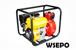 "2"" Portable Water Pump Powered by 7hp Gas Engine,Aluminum Pump"
