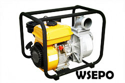 "3"" Water Pump Powered by 4hp Diesel Engine,Aluminum Pump"