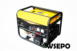 5kw Portable Gasoline Genset,230/380V,E-Start