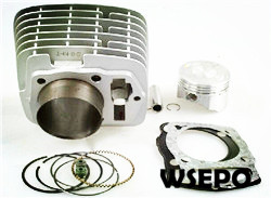 Wholesale ZS CB250 Motorcycle Cylinder Kit(6 pc kit)