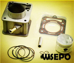 Wholesale ZS CG150 Motorcycle Cylinder Block Set(Water Cooling)