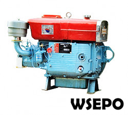 ZS1100 15hp Water Cooled 4-stroke Diesel Engine with Estart