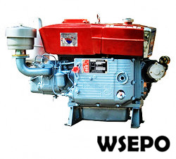 ZS1110 18hp Water Cooled 4-stroke Diesel Engine with Estart