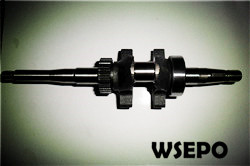 2.5hp 97cc Gas Engine Parts,Crankshaft(for Water Pump)