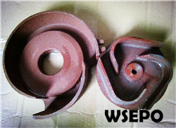 "Wholesale 3"" water pump spare parts,impeller&case kit"